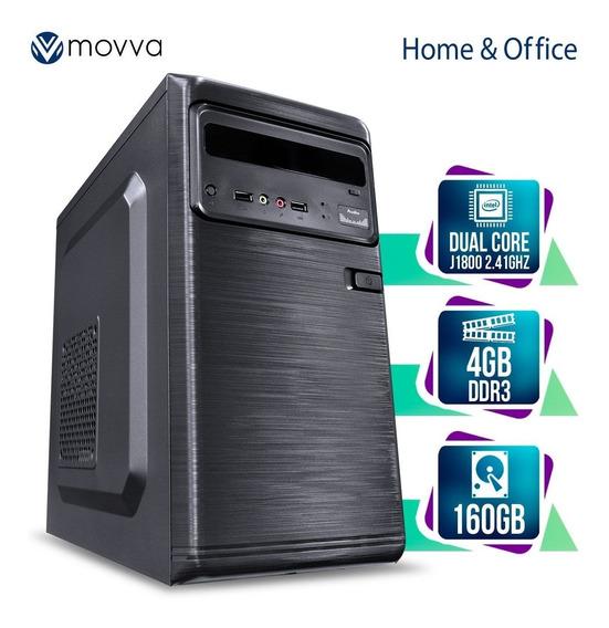 Computador Cel Dual Core J1800 2.41ghz Mem 4gb/160gb