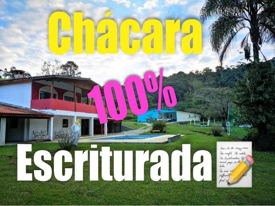 05b - Chácara Documentada Com Piscina