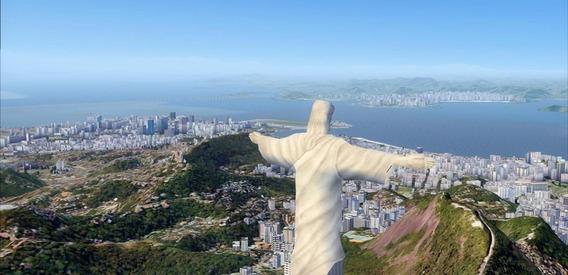 Mega Cenário São Paulo E Rio Para Fsx Frete Grátis