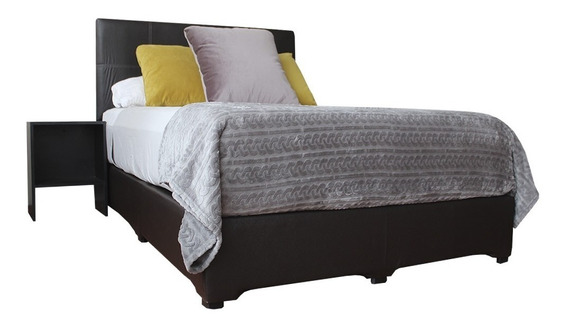 Base Cama Urban Matrimonial - Base + Cabecera + 2 Buros