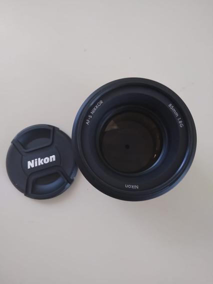 Lente 85mm Nikon Nova 1.8