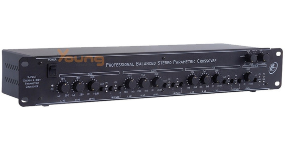Crossover Processador Stéreo 4 Vias X24st Nca Full