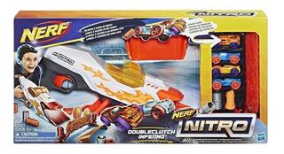 Lanzador Nerf Nitro Doubleclutch Inferno (4501)