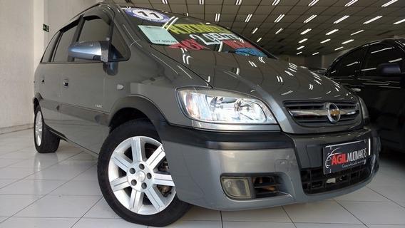 Chevrolet Zafira 2.0 Elite Único Dono 2011 Cinza