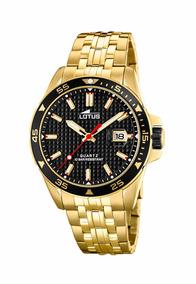 11e8be2ae9b1 Reloj 18654 4 Dorado Lotus Hombre Chrono por Festina Group