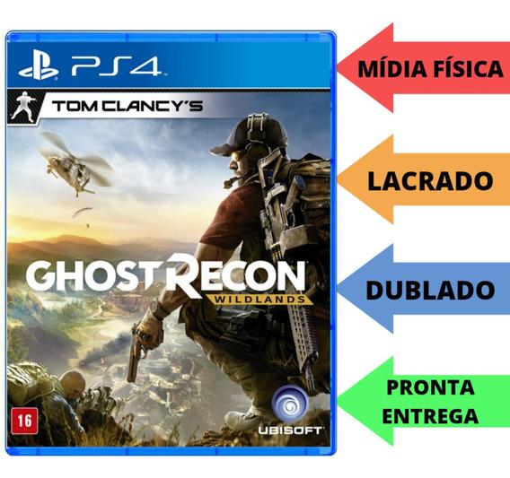 Ghost Recon Wildlands Ps4 Tom Clancys Mídia Física Português