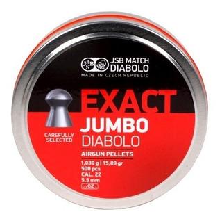 Balines Jsb Exact Jumbo Diabolo X250 5.5 - Aire Hay Crosman