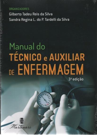 Manual Do Técnico E Auxiliar Enfermagem Nova Edição Original