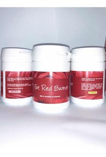 Novo Kit 3 Fat Red Burner 30caps Frete+brinde