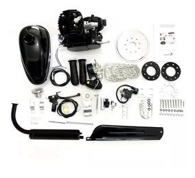 Kit Motor De Bike Motorizada Acessórios Completo Gas 80cc