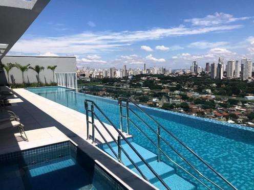 Apartamento 1 Quarto, 45m2, 1 Vaga, Jardim Goiás, Lazer Cpt