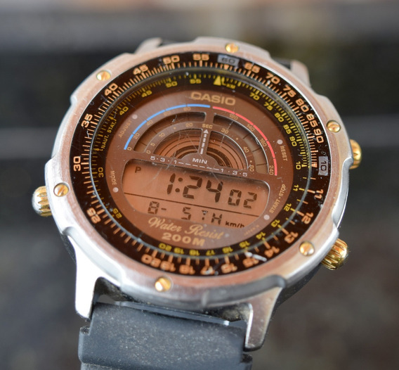 Relógio Cásio Dw-7100 - Raro Modelo