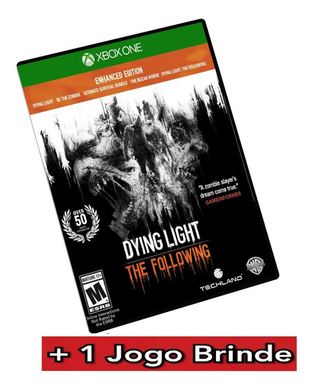 Dying Light The Following Xbox One Midia Digital