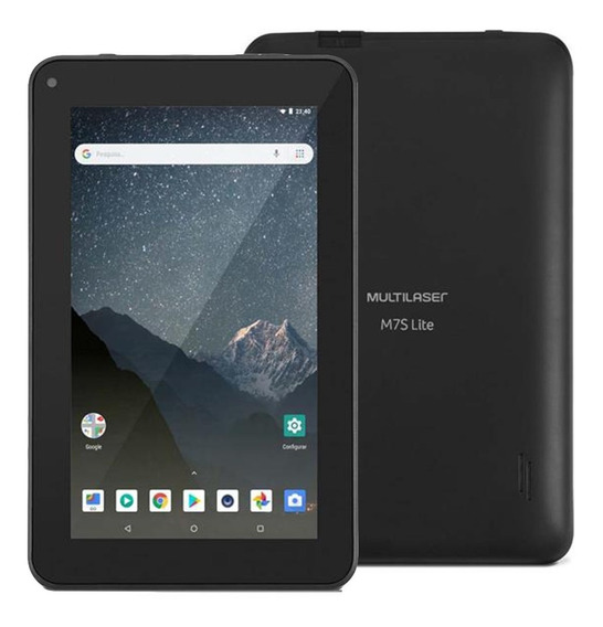 Tablet Multilaser M7slite Wi-fi 8gb 7 Pol. Android 8.1 Nb296