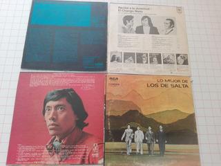 Lote De 4 Discos De Vinilo Folklore Nacional D17
