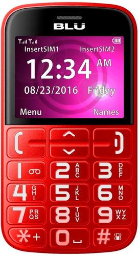 Celular Blu Joy Tecla Grandes Sos Emergência Dual Sim
