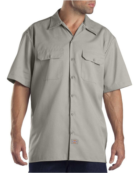 Dickies 1574 Camisa Trabajo Uso Rudo Manga Corta Extra Xxxl