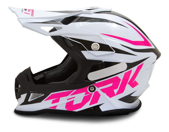 Capacete Enduro Fast 788 Pro Tork Feminino