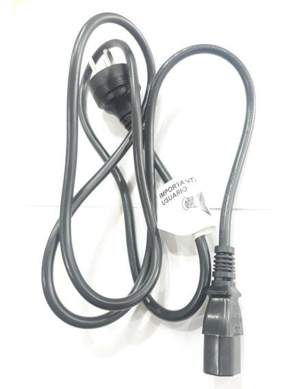 Cable Fuente De Alimentacion Pc Monitor Toma Corriente Orig