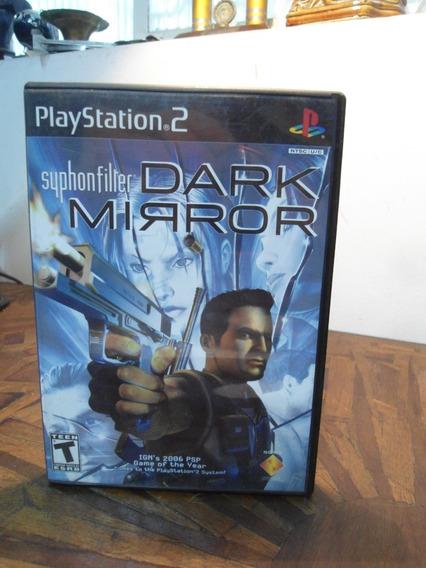 Jogo Para Playstation 2 - Syphonfilter Dark Mirror -original