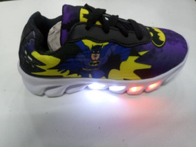 Tênis Infantil Led Batman