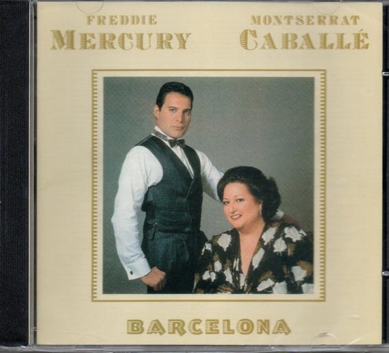 Cd Freddie Mercury And Montserrat Caballé - Barcelona - Jbm