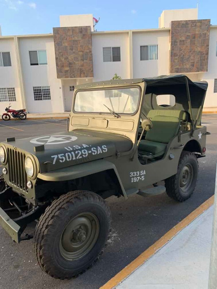Jeep Willys Militar 1952