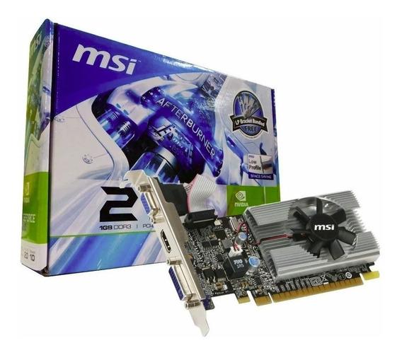 Placa Vídeo Msi Geforce Gt 210 1gb 64 Bits Hdmi Dvi Hi End