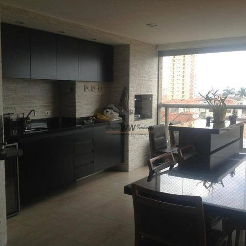 Apartamento À Venda, 250 M² Por R$ 2.600.000,00 - Santana - São Paulo/sp - Ap3069