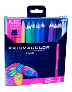 Colores Prismacolor Gruesos X 12 Unidades Junior Caballete
