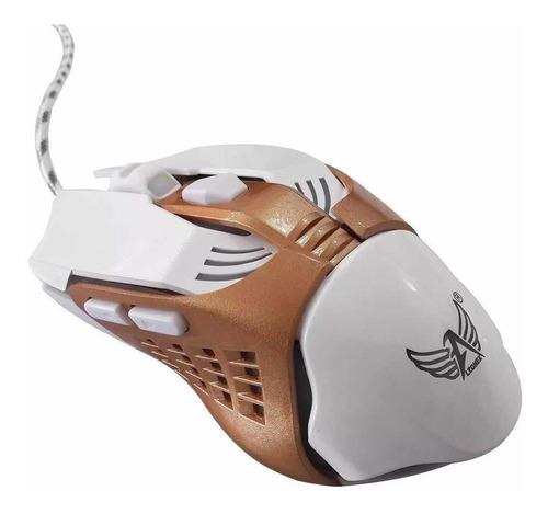 Mouse Gamer Altomex Branco Com Fio