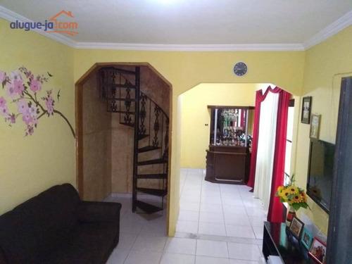 Imagem 1 de 6 de Sobrado Com 3 Dormitórios À Venda, 100 M² Por R$ 390.000,00 - Bosque Dos Eucaliptos - São José Dos Campos/sp - So1340
