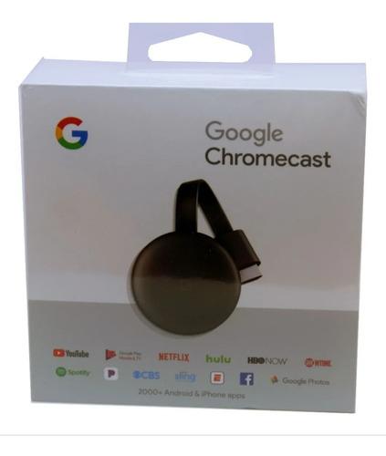 Chromecast Google Nuevo 100% Original 3 Generacion Garantia