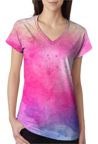 Camiseta T-shirt Tie Dye Colors Trust Summer Degradê Model 3