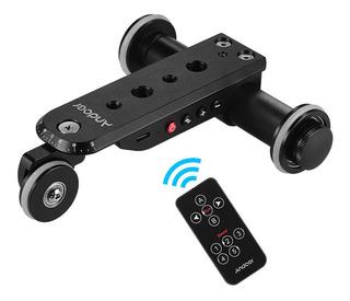 Soporte De Cámara C/ruedas Andoer Ppl-06s Pro Control Remoto