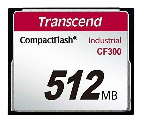 Cartão Memória Compactflash Transcend 512mb Industrial 300x