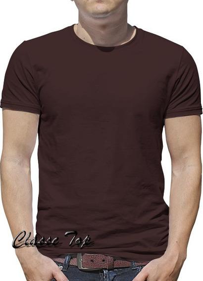 Camiseta Masculina Tamanho Grande Kit C/ 6