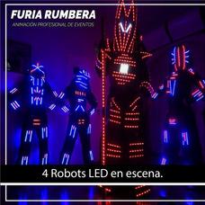 Robot Led. Show Luminico Coreografico 15 Años Casam. Eventos