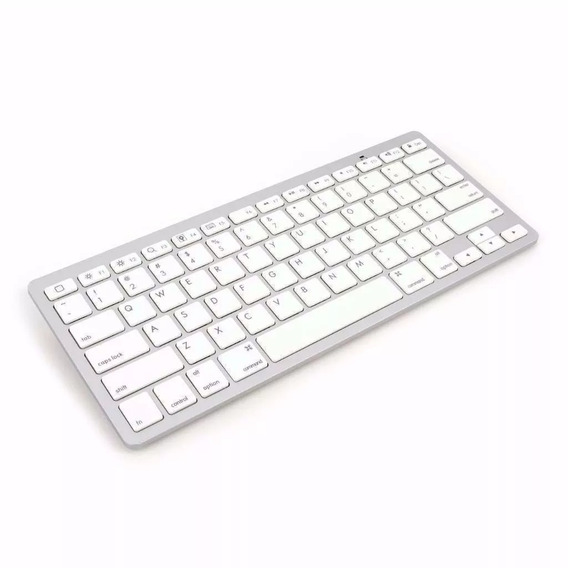 Teclado Bluetooth Kit 2 Padrão Apple iMac iPad Pc Wireless