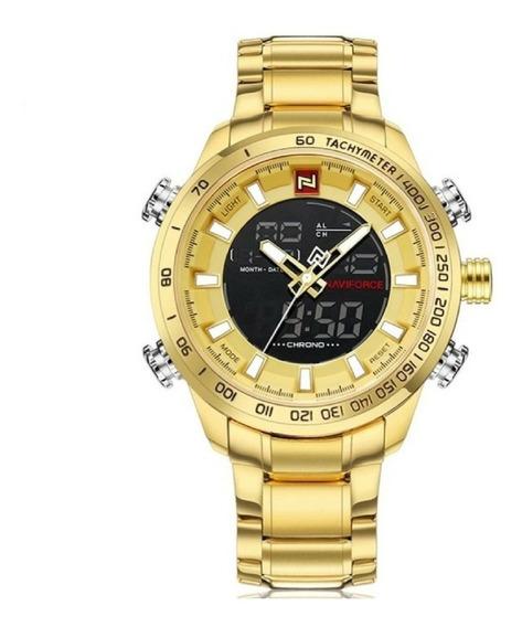 Relógio Masculino Naviforce 9093 Original Analógico Digital