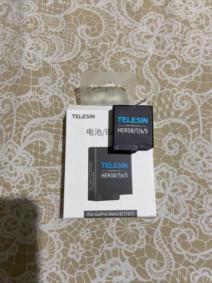 Bateria Gopro Hero 5 6 7 8 Black Hero 2018 Telesin
