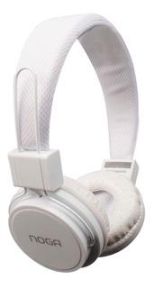 Auricular Ng-55 Noganet Blanco - Conexión Auxiliar