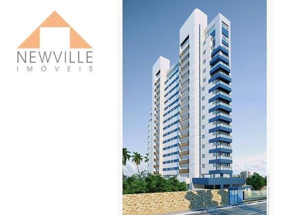 Apartamento Com 2 Dormitórios Para Alugar, 45 M² Por R$ 1.581,91/mês - Boa Viagem - Recife/pe - Ap1348