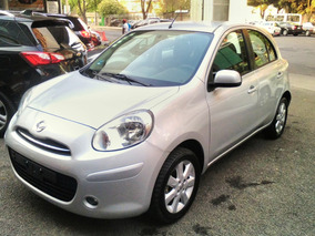 Nissan March 1.6 Advance Mt Color Plata Modelo 2013