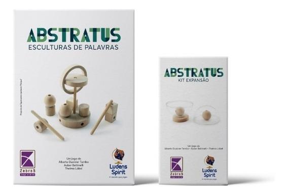 Abstratus + Expansão De Jogo Abstrato Ludens Spirit Jl0152