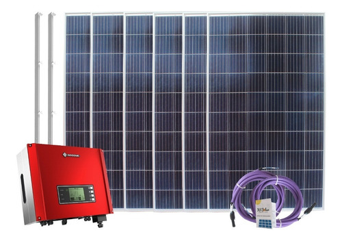Kit Solar Paneles 8 X 330w On Grid Trifasico Inyeccion 3on