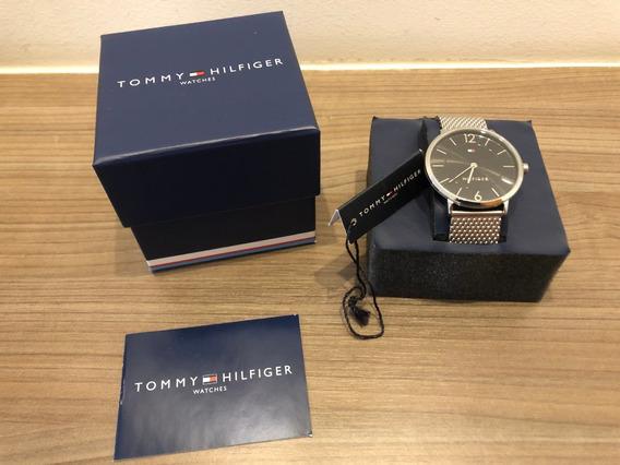 Relógio Masculino Pulseira Aço Tommy Hilfiger (aceito Troca)