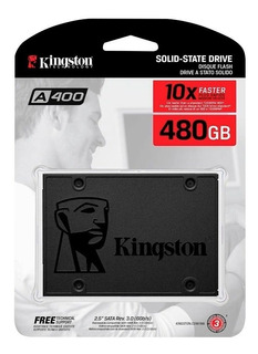 Ssd Kingston De 480gb Disco Duro Sólido En Loi