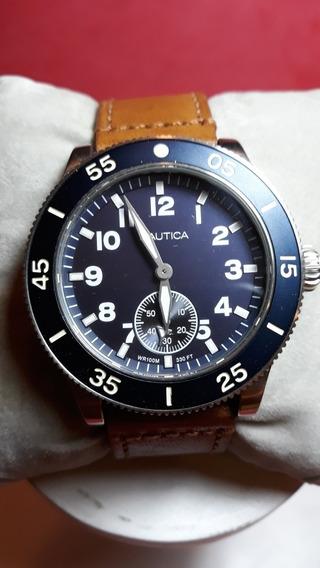 Relógio Nautica Modelo Naphst001 Novo Na Caixa