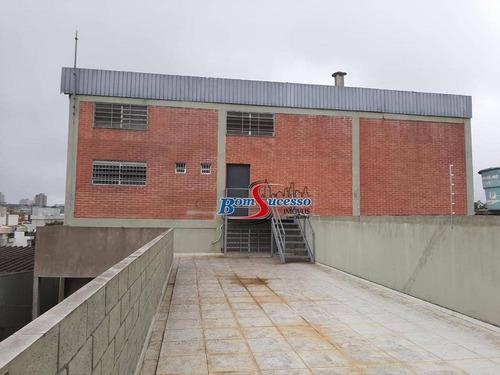 Galpão Para Alugar, 1400 M² Por R$ 14.000,00/mês - Vila Formosa (zona Leste) - São Paulo/sp - Ga0321